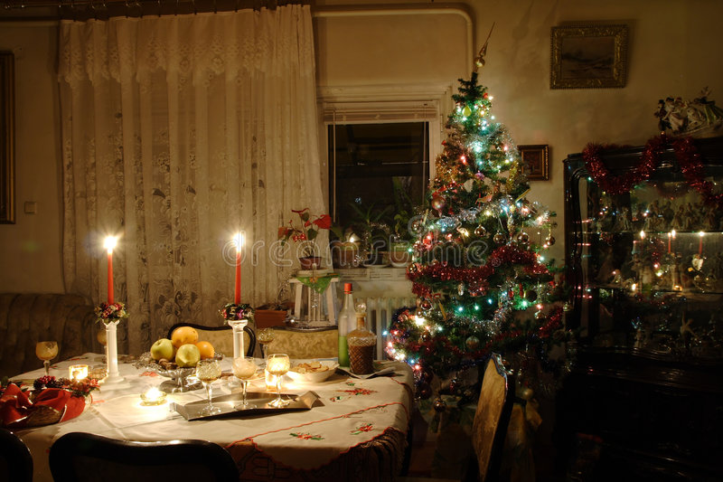 julhelgdagsafton arkivbilder