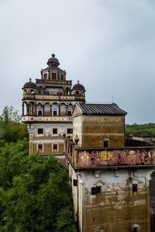"""Juli 2017 †""""Kaiping, China - Linlu-Landhaus in Dorf Kaipings Diaolou Maxianglong, nahe Guangzhou stockfotos"""