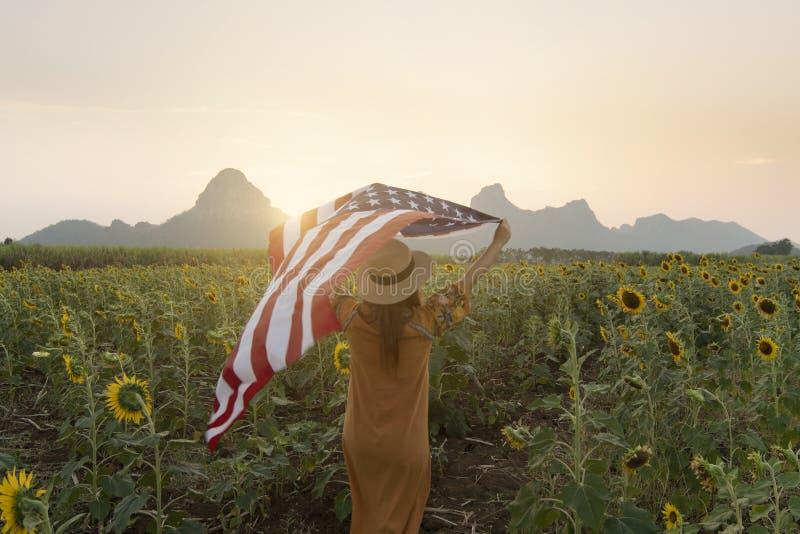 4 Juli - de nationale dag van de V.S. stock foto's