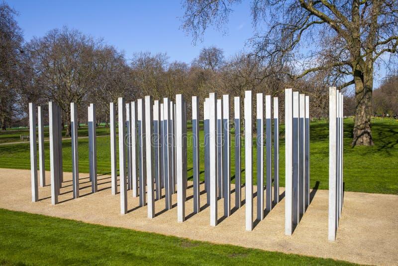 Juli Denkmal in Hyde Park stockbild