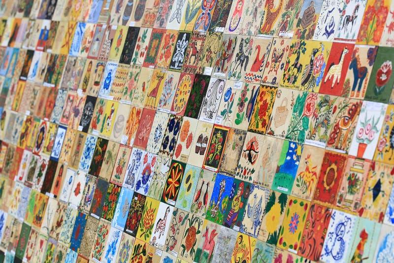 Juli 4: hantverk hemlagad festival Ryssland på Juli 4, 2015, i Vologda, Ryssland arkivfoton