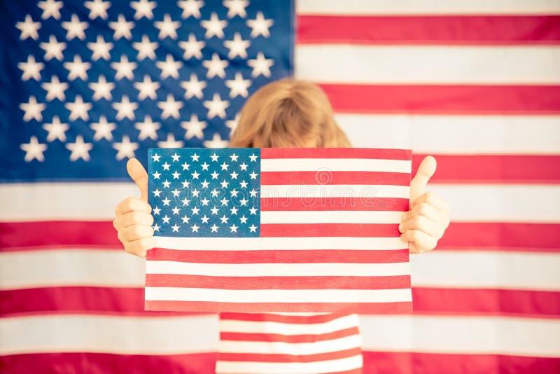 Juli 4., Unabhängigkeitstagfeiertag stockfotografie