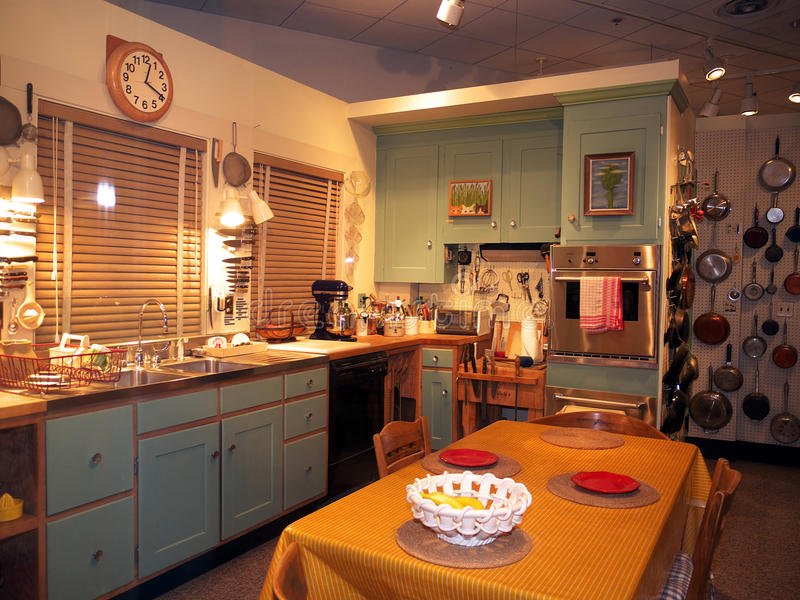Download Julia Child's Kitchen At The Smithsonian Editorial Stock Image - Image: 20199244