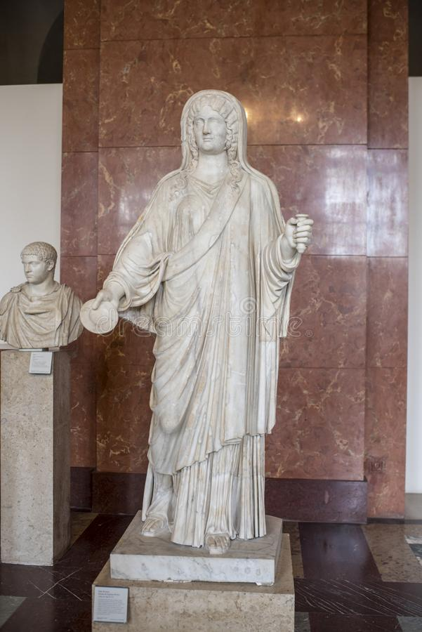 Julia Domna; fru av Septime Severe ANNONS omkring 193-211 luftventil royaltyfria foton