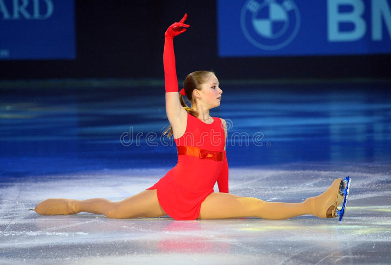 Julia LIPNITSKAIA (RUS) imagem de stock
