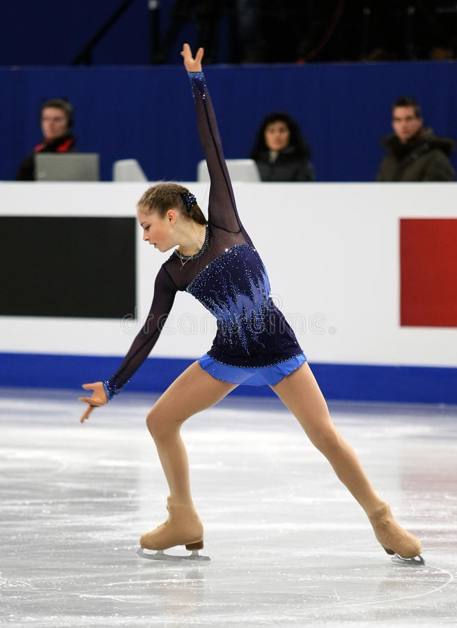 Julia LIPNITSKAIA (RUS) images libres de droits