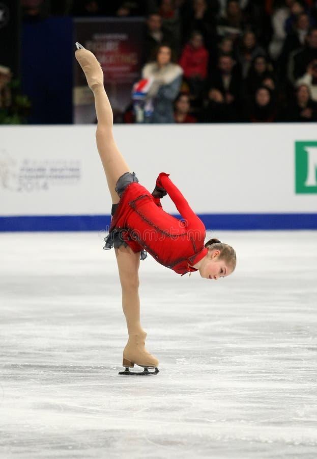 Julia LIPNITSKAIA (RUS) zdjęcia royalty free