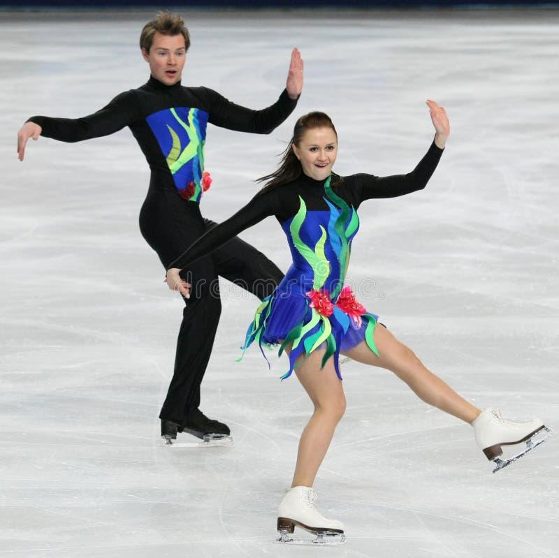 Julia ZLOBINA/Alexei SITNIKOV (AZE) photo libre de droits