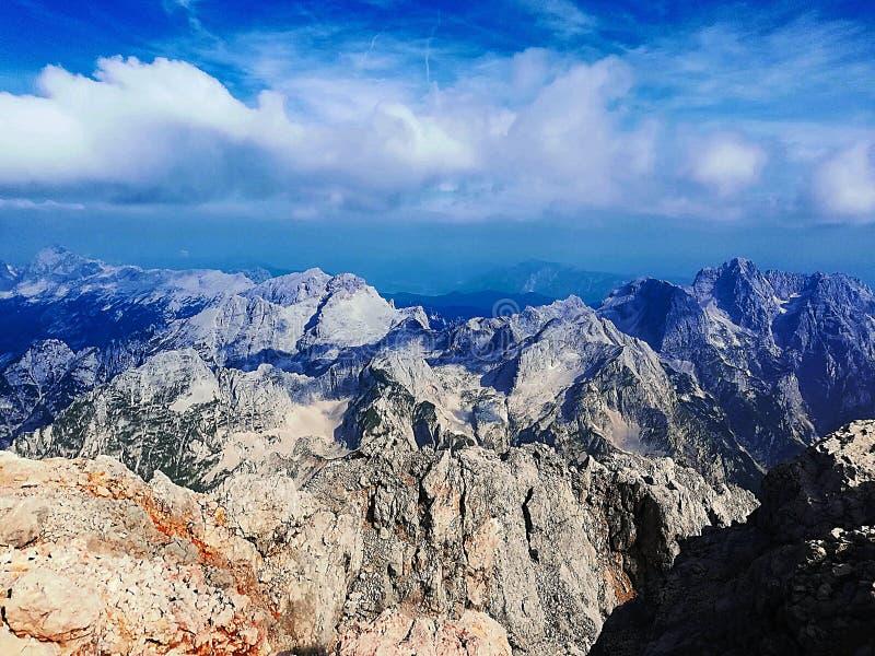Julian Alps incrível imagem de stock royalty free