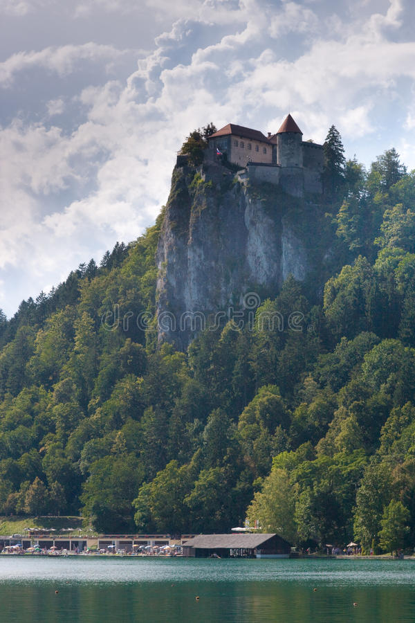 Download Julian Alps Lake In Bled In Slovenia Stock Photo - Image: 10994864