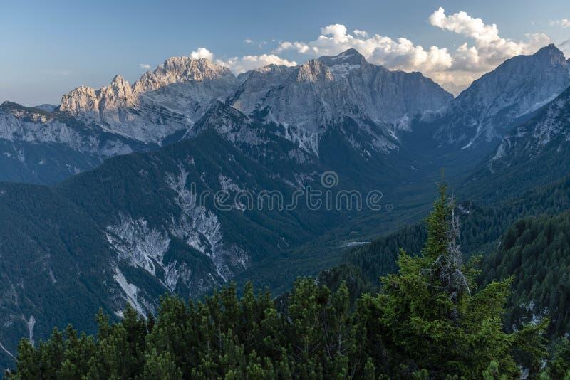 Julian Alps in Summer 2018 royalty free stock photos