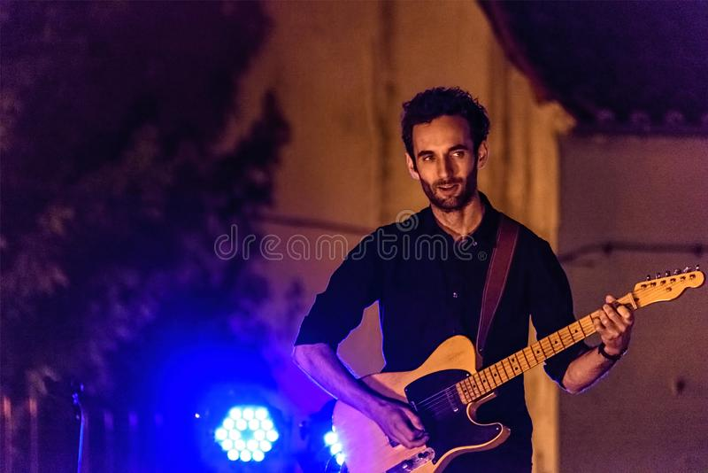 Julian Lage Live 0039 images stock