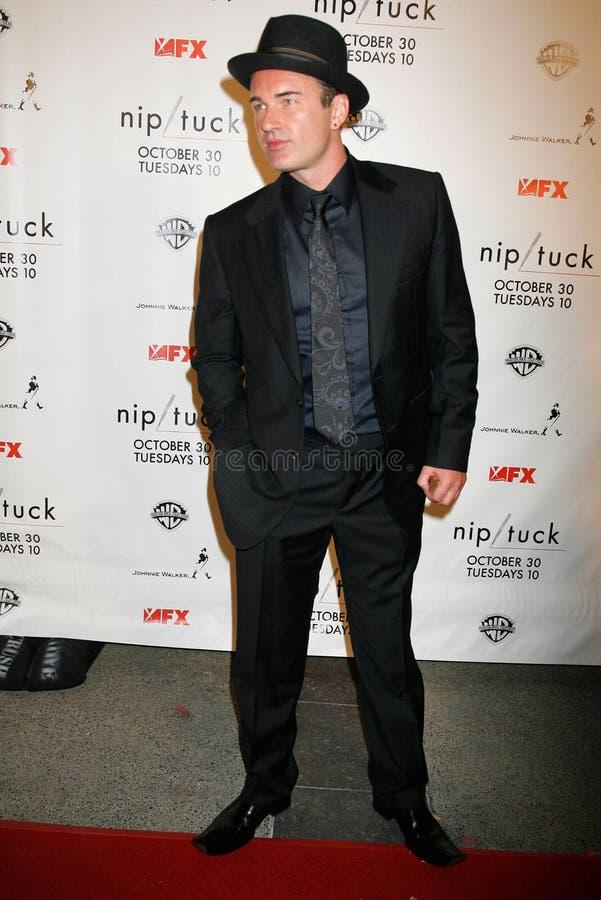Julian McMahon at the Nip-Tuck Season 5 Premiere Screening. Paramount Studios, Hollywood, CA. 10-20-07 stock images