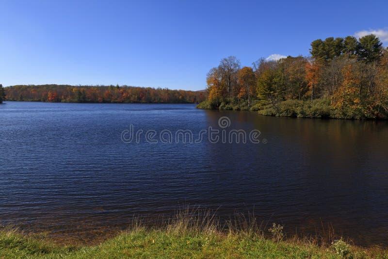 Download Julian Price Lake At Blowing Rock, North Carolina Stock Image - Image of parkway, pond: 61191701