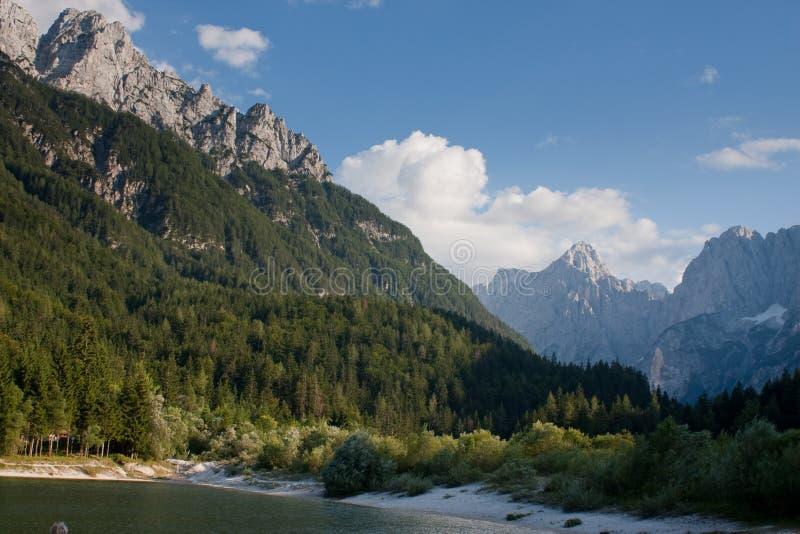 Julianische Alpen in Slowenien stockfoto
