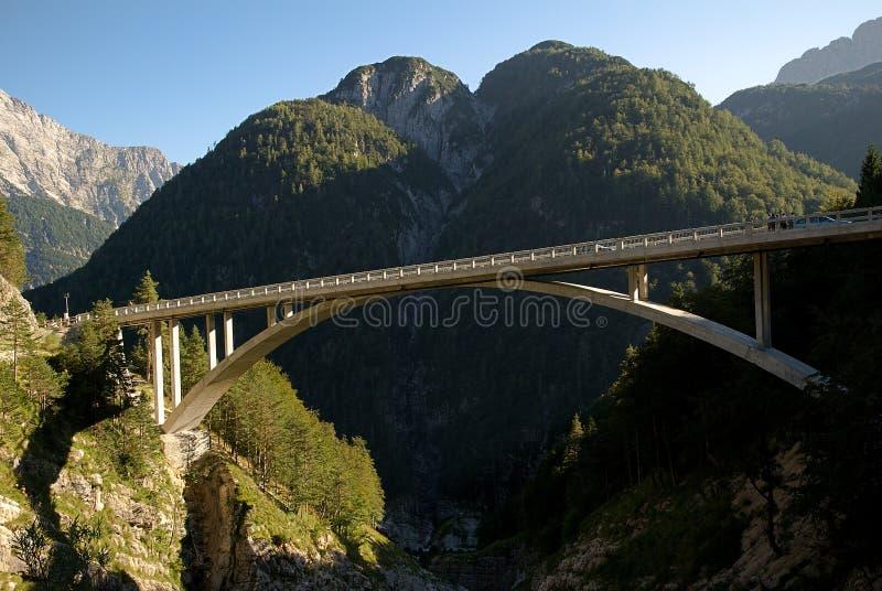 Julianische Alpen, Slowenien stockbild
