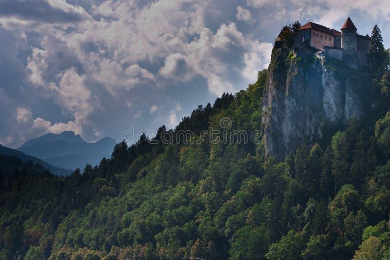 Julianischer Alps See innen verlaufen in Slowenien stockfoto