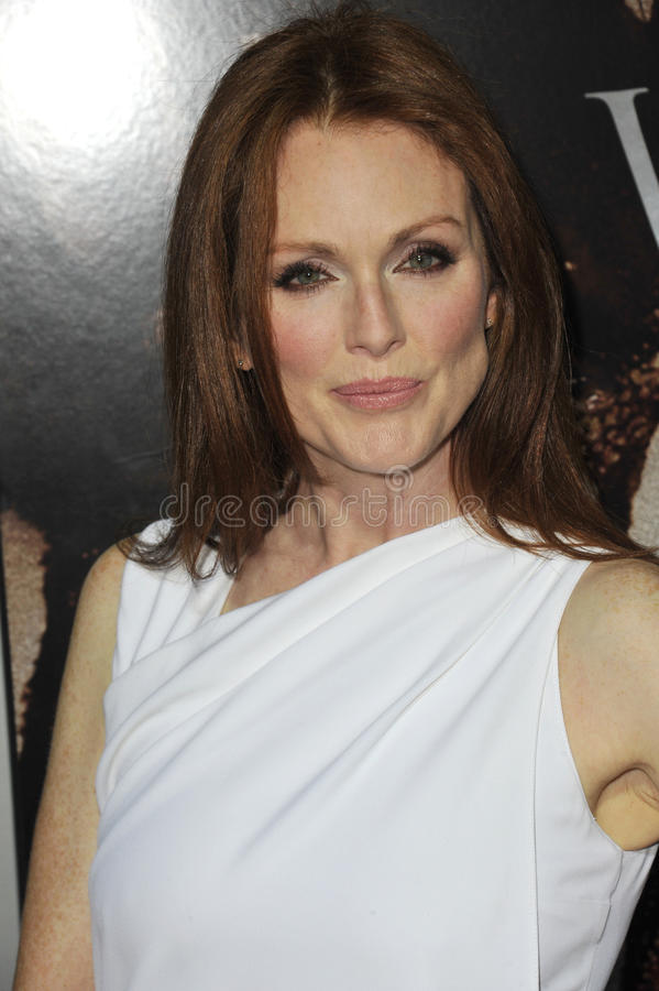 Julianne Moore royalty-vrije stock foto's