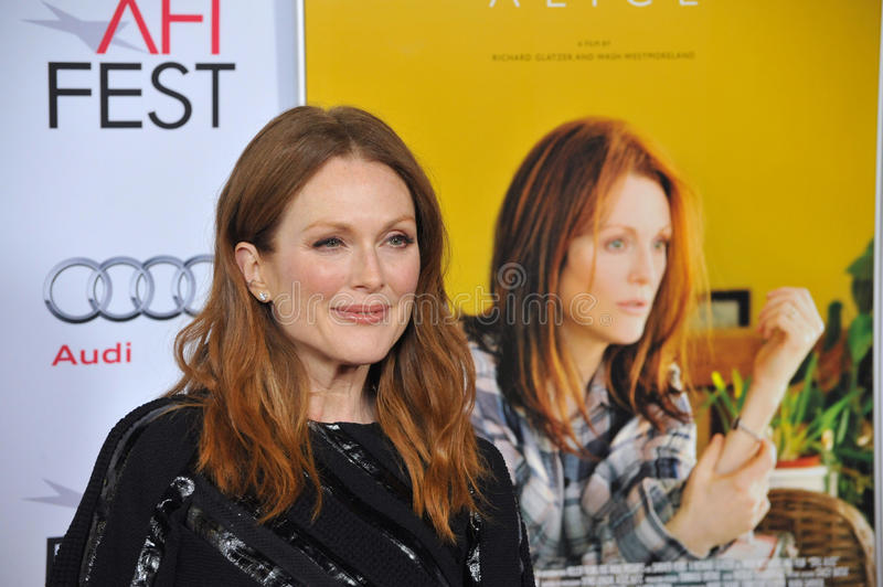 Julianne Moore obrazy royalty free