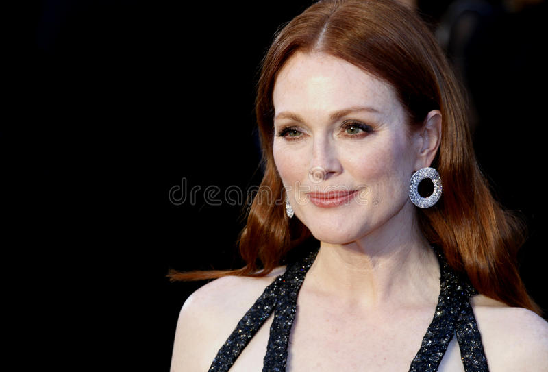 Julianne Moore royalty-vrije stock foto