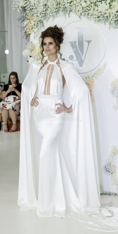 Julie Vino FW18 Bridal zdjęcie royalty free