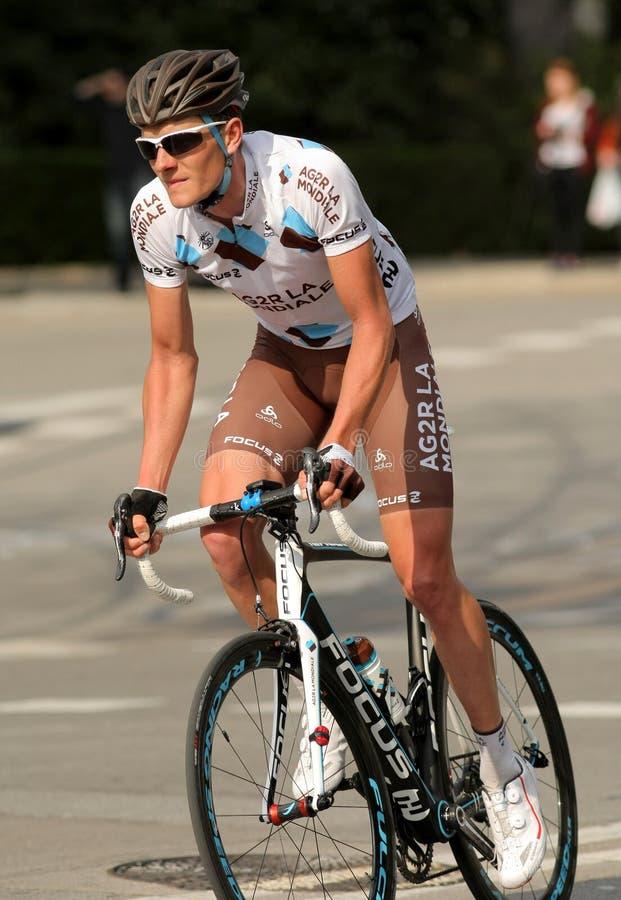 Julien Berard of Ag2r La Mondiale royalty free stock images