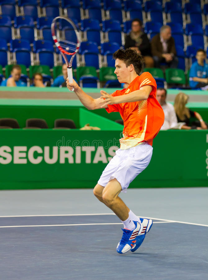 Download Julien Cagnina At Zurich Open 2012 Editorial Photography - Image: 24027347