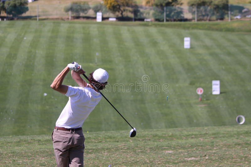 Julien Lamy at Andalucia Golf Open, Marbella