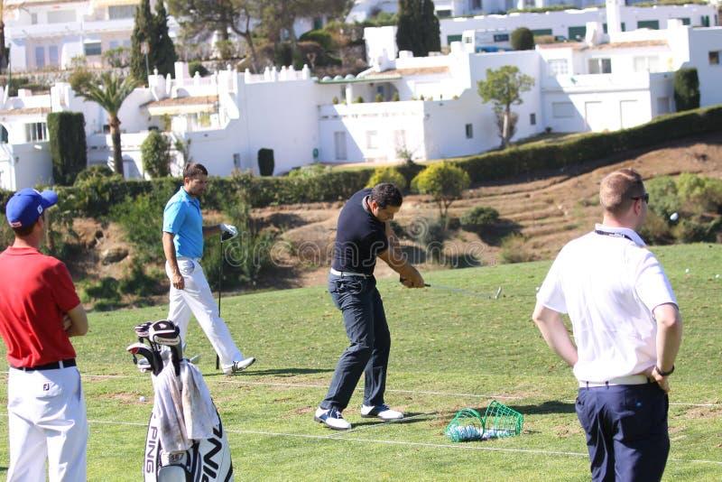 Julien Quesne Andalucia Golf Open, Marbella Editorial Photo