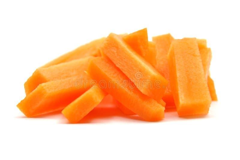 julienne морковей стоковые фото
