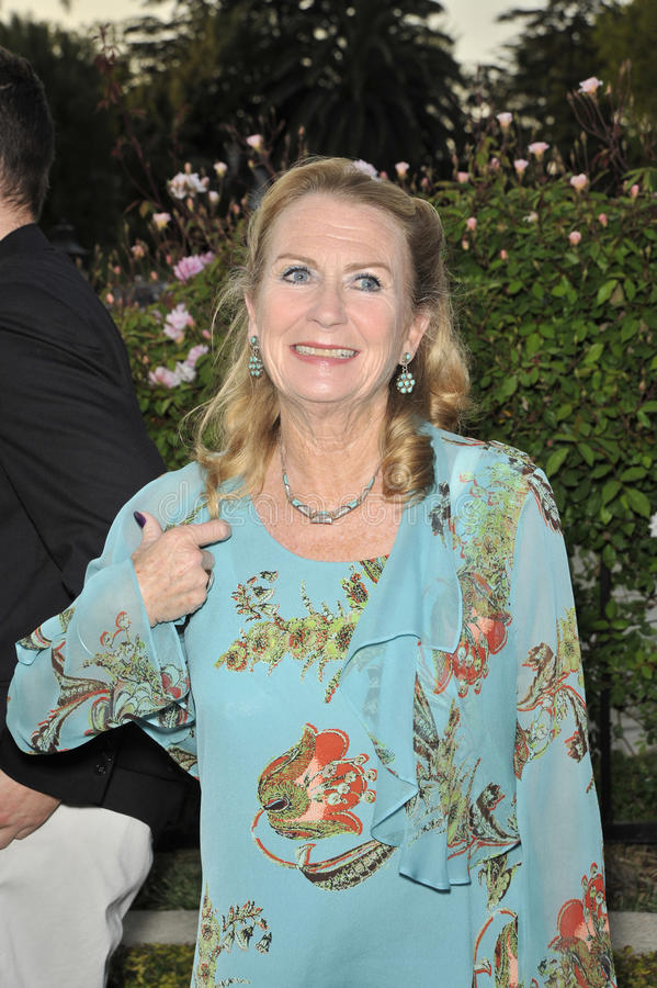 Juliet Mills. At the champagne launch celebration for Brit Week 2008 at the British Consul General's official residence in Los Angeles. April 24, 2008 Los stock image