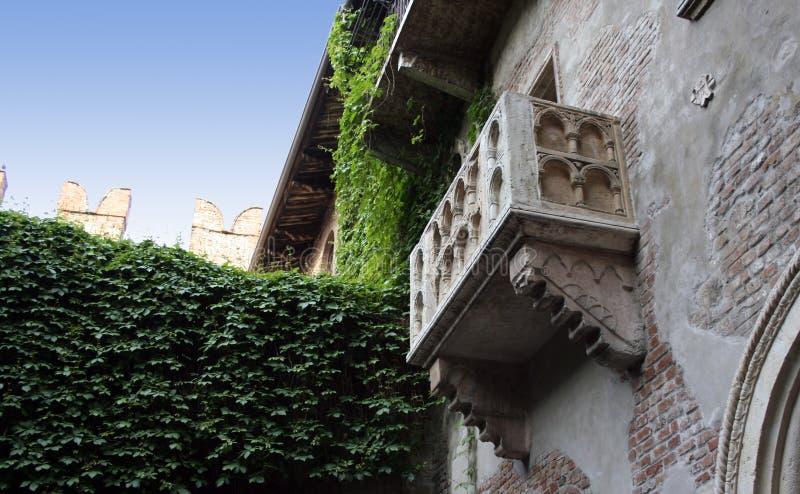 Juliet's Balcony stock image