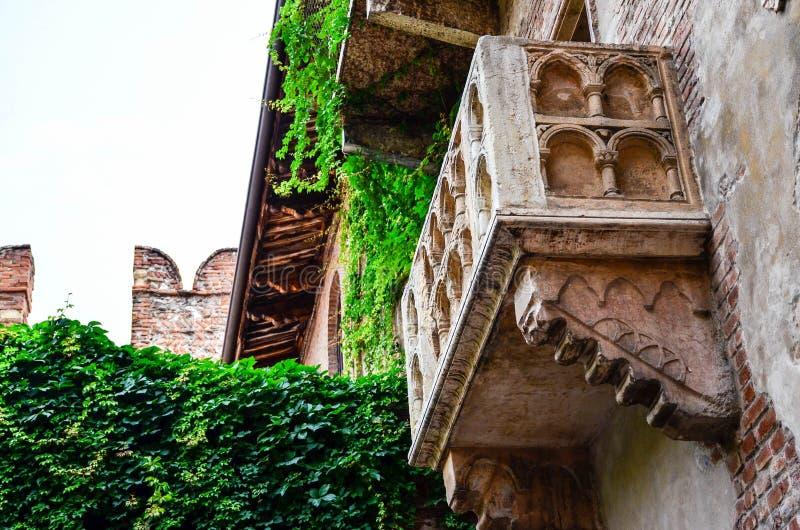 Julieta ` s dom Casa Di Giulietta zdjęcia royalty free
