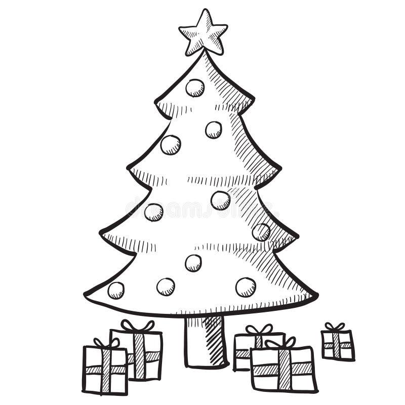 julillustrationtree stock illustrationer
