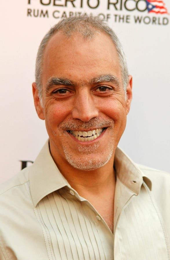 Julio Caro στη πρεμιέρα του Λος Άντζελες «του El Cantante». Συντεχνία διευθυντή του θεάτρου της Αμερικής, Λος Άντζελες, ΠΕΡΙΠΟΥ 07 στοκ εικόνες με δικαίωμα ελεύθερης χρήσης