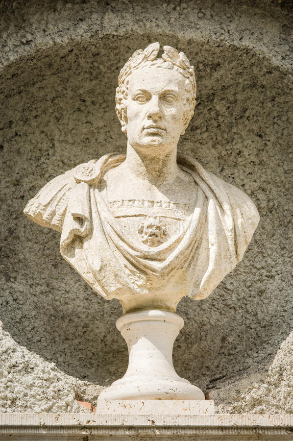 Julius caesar royalty free stock photography