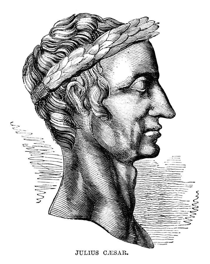 Julius Caesar ilustração royalty free