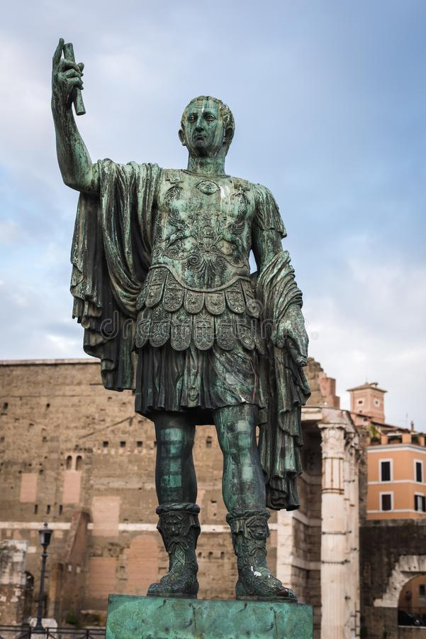 Julius Caesar Emperor de Rome photo stock