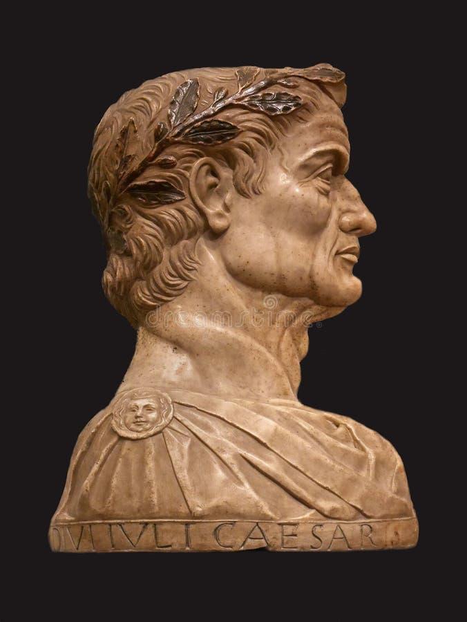 Julius Caesar profil fotografering för bildbyråer