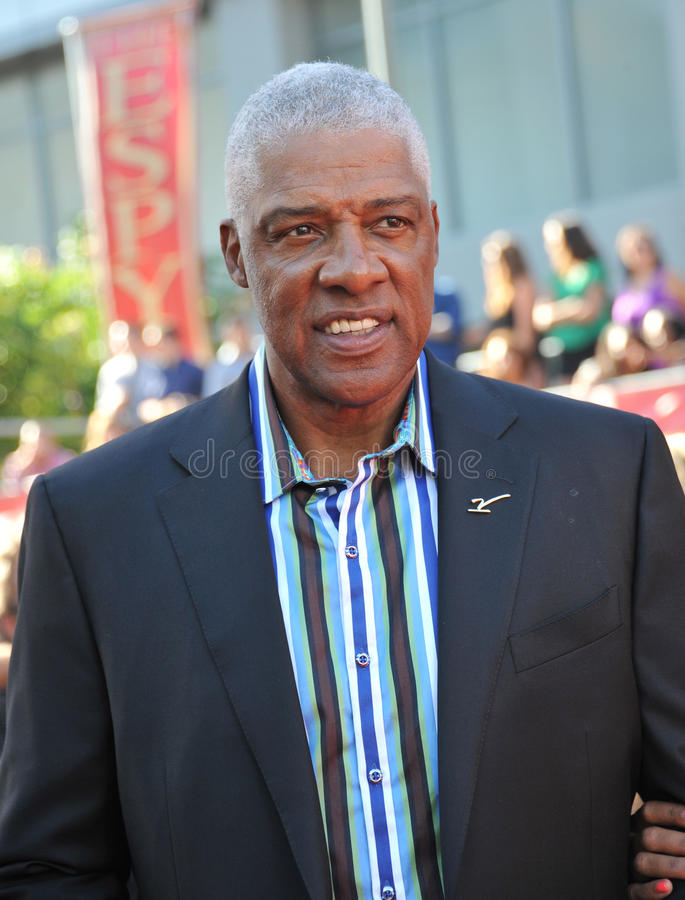 Julius Erving image stock