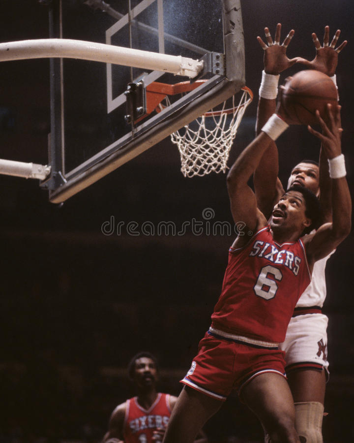 Julius Erving images libres de droits