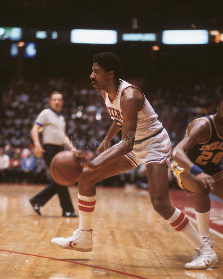 Julius Erving photos libres de droits