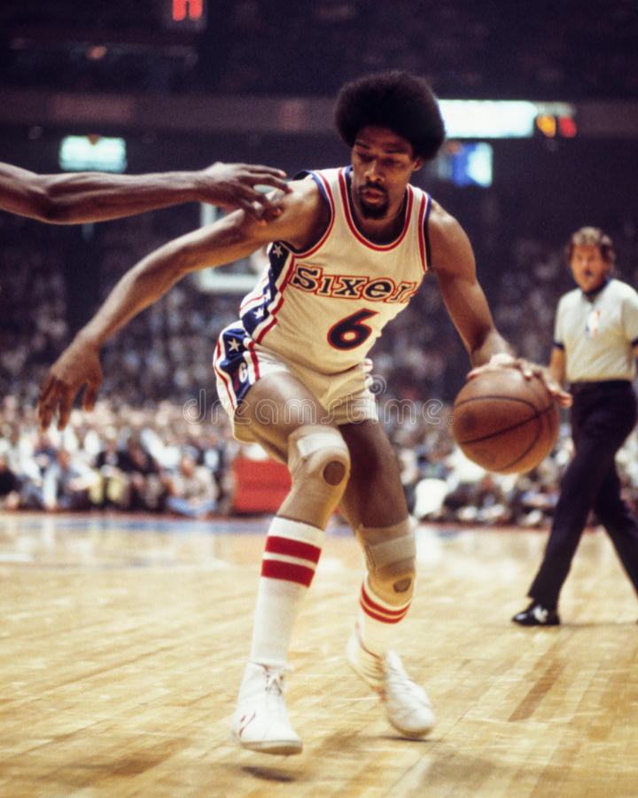 Julius Erving photographie stock libre de droits