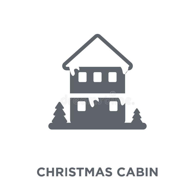 julkabinsymbol från julsamling vektor illustrationer