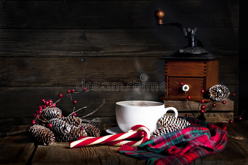Julkaffe royaltyfria foton