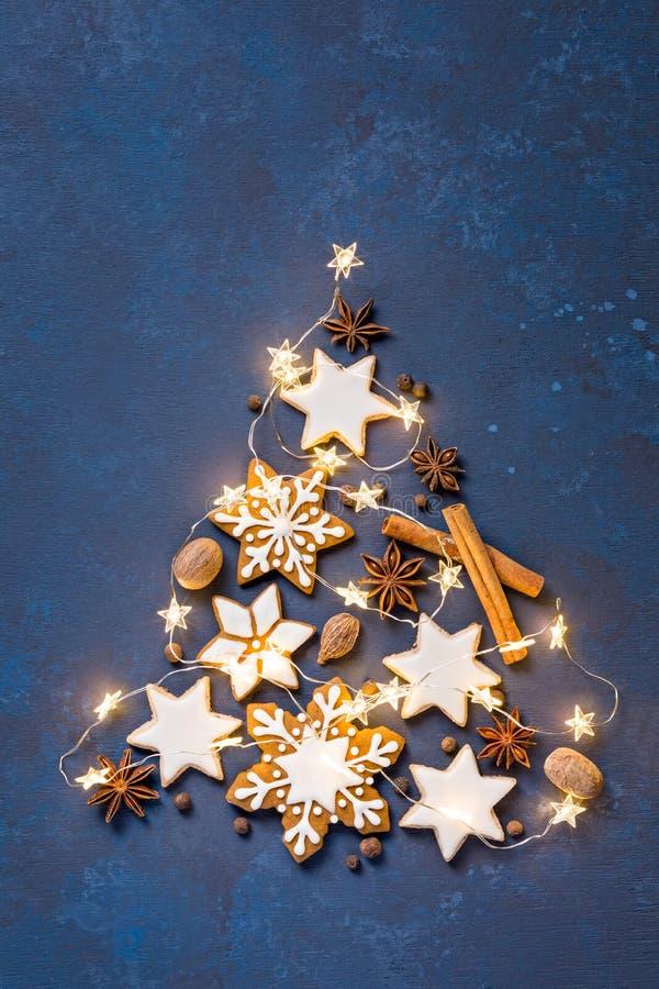 Julkakaträd royaltyfria bilder