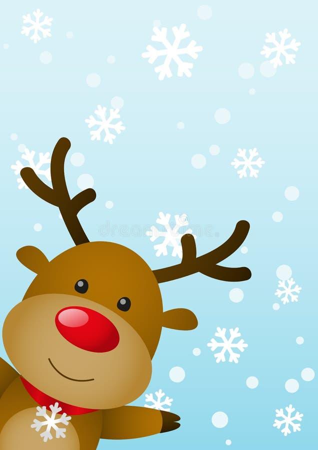 Julkort royaltyfri illustrationer