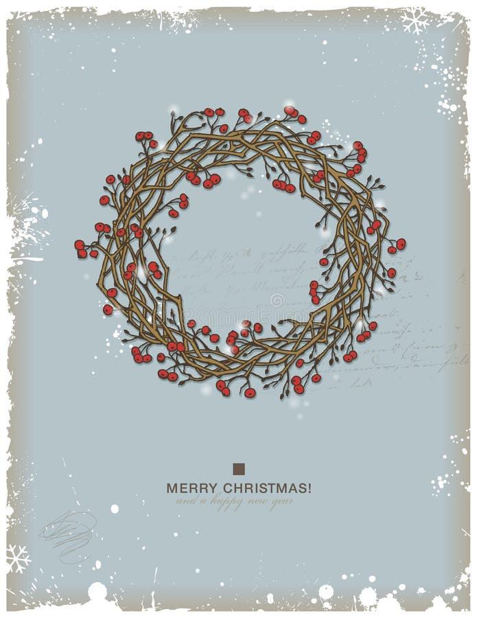 julkran stock illustrationer