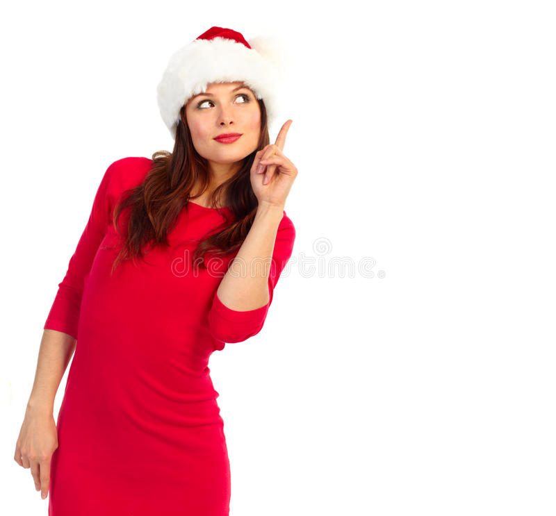 julkvinna royaltyfria bilder