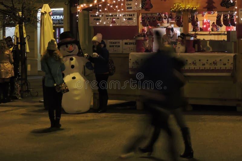 Julmarknad arkivfoton